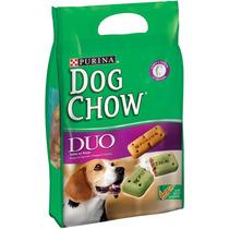 Dog Chow Biscoito Integral Carinhos Duo Purina - 1 Kg