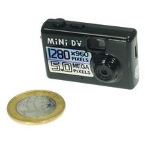 Mini Camera Espiã Filmadora Hd Audio Video Mini Dv Espião