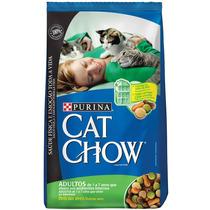 Ração Cat Chow Adultos De 1 A 7 Anos - 3kg - Purina