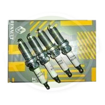 Kit Cabos / Velas/bobina / Peugeot 206 10 16v /clio 1.0 16v