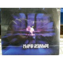Cd Duplo Klaus Schulze Live Klangart (importado)
