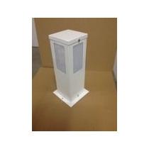 Poste Jardim Alumínio Retangular E-27 - 30 Centímetros