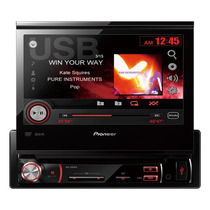 Dvd Player Pioneer Retratil 7 Polegadas Touch Screen Usb