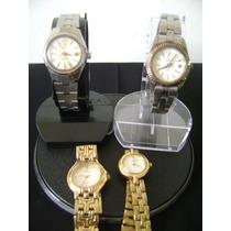 Lote De 04 Relógios De Pulso Feminino Diversas Marcas