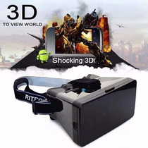 Google Cardboard Kit Óculos Realidade Virtual Vr Rv Cp25