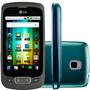 Lg P500h Preto 3.2mp Wi-fi Android 3g Bluetooth Fm Mp3