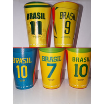 5 Copos Diferentes Brahma Oficiais Copa Do Mundo 2014 Brasil