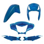 Kit Plástico Carenagem Biz 125 Es Ks Ano 2006 Azul Metálico
