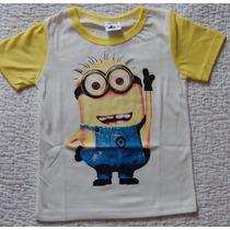 Camiseta Minions Meu Malvado Favorito ( Pronta Entrega )