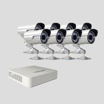 Kit Monitoramento Dvr Stand Alone 16 Canais Jfl 8 Cameras