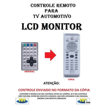 Controle Remoto Para Tv Automotiva Lcd Monitor