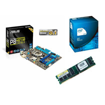 Kit Intel Dual Core G1610 2.60 Ghz + Asus P8h61 + 4 Gb Ddr3