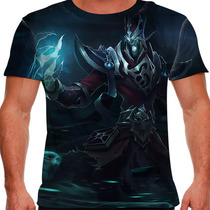 Camiseta League Of Legends Karthus Voz Mortal Masculina