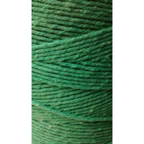 Barbante 8 Fios 1kg Verde Crochê Artesanato Tapete Natal