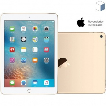 Oferta Apple Ipad Pro Wi - fi 128gb Ios 9 Dourado Câmera 8mp