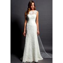 Vestido De Noiva Em Renda Nobre
