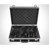 Kit Microfone P/bateria 7 Peças Tsi Kit-dsm7