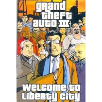 Somente Manual Original Em Portugues Game Pc Gta 3