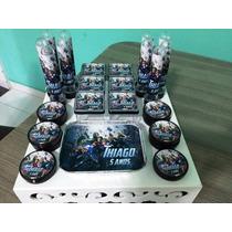 Kit Festa Personalizado Vingadores - Vários Temas