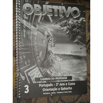Livro Português 3º Ano - Pré-vestibular - Objetivo