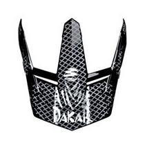 Pala Do Capacete Bieffe 3 Sport Dakar Adrenaline Preto/graf
