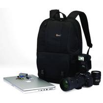Lowepro Mochila Fastpack 250 - Preta Laptop E Câmeras Dslr