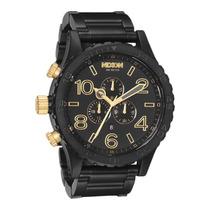 Relógio Nixon Chrono 51-30 Original, Couro, Garantia 1 Ano
