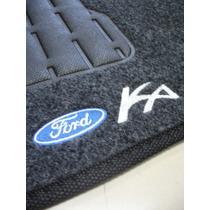 Tapete Ford Ka .../2007 Carpete Bordado - Jogo Com 5 Peças