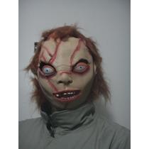 Máscara Cabeça Do Chucky - Garantia De Boas Risadas