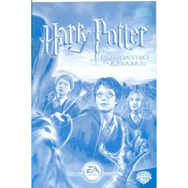 Manual Original Em Portugues Game Pc Harry Potter E O Prisio
