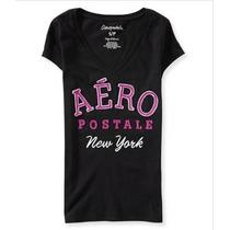 Camisetas Aeropostale Manga Curta - Tam P