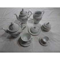 Serviço Chá E Café 53 Peças Porcelana Schmidt Eterna