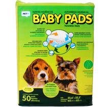 Tapete Higiênico Baby Pads - Petix - 50 Unidades