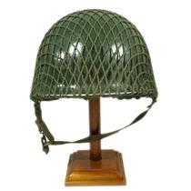 Rede Camuflagem Capacete M1 Original Segunda Guerra Mundial