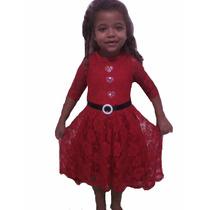 Vestido Mullet Infantil De Renda Varias Cores E Tamanh