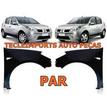 Par Paralama Sandero 2008 2009 2010 2011 2012 Renault Novo