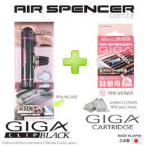 Air Spencer Pink Shower-perfume-de-carro- Made In Japan