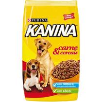 Ração Kanina Adulto Carne E Cereais Purina - 15kg
