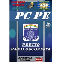 Apostila Do Concurso Pc Pe Perito Papislocopista 2016