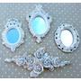 3 - Espelhos Ou Molduras Estilo Ouro Provençal