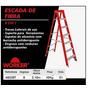 Escada De Fibra 8 Em 1 Worker 8 Degraus