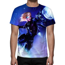 Camiseta League Of Legends Ezrael Pulse Fire- Estampa Total