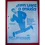 Cartaz De Cinema:   O Otário -  ( Jerry Lewis )