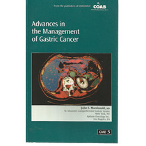 Advances In The Management Of Gastric Cancer - (livro Em Ing