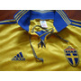 Camisa Suécia Adidas1998 1999 Nova