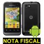 Motorola Defy Mini Xt320 - Wi-fi, 3g, Android 2.3 De Vitrine
