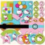 Kit Scrapbook Digital Festa Hello Kitty