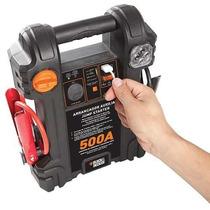 Auxiliar De Partida Arrancador Carga Bateria B&d 500amp 12v