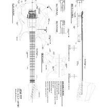 Planta Ibanez Jem 777 Model Para Impressão(luthier)