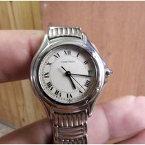 Relógio Cartier Ladies Santos Dumont Aço Quartzo